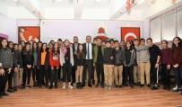 BİLGİ EVLERİ - Başkan Yılmaz, Kariyer Günlerinde Öğrencilerle Buluştu