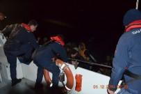 SIERRA LEONE - Ayvalık'ta 48 Düzensiz Göçmen Sahil Güvenlik Tarafından Yakalandı