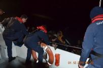 SIERRA LEONE - Ayvalık'ta 48 Düzensiz Göçmen Yakalandı