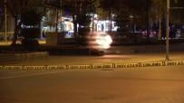 BOMBA İMHA UZMANI - Bolu'da Şüpheli Çanta 'Ertuğrul' İle Patlatıldı