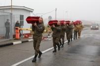 RESMİ TÖREN - Ukrayna, 7 Kızıl Ordu Askerinin Naaşını Rusya'ya Teslim Etti