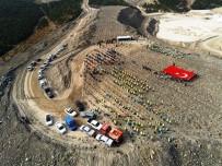 PORSUK - Kütahya'da Maden Sahası Rehabilitasyon Çalışmalarıyla Fidanlar Toprakla Buluşuyor