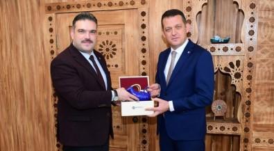 Rektör Prof. Dr. Çomaklı, Safranbolu Kaymakamı Ürkmezer'i Ziyaret Etti