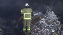 VEYSEL KARANI - Kağıt Fabrikasında Korkutan Yangın, 10 Kişi Ölümden Döndü