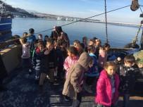 MEHMET YıLDıZ - Minikler Balık Çeşitlerini Balıkçılardan Öğrendi