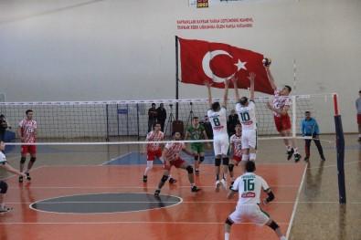 TVF Erkekler 1. Lig Açıklaması Solhanspor Açıklaması 3 - Ziraat Bankası Açıklaması 0