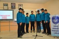 BAYRAM YıLMAZ - Yabancı Uyruklu Öğrencilerin İstiklal Marşı Coşkusu