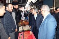 TESBIH - İl Protokolü Tarihi Oturakçılar Pazarında İncelemelerde Bulundu