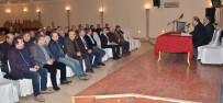 MURAT ASLAN - Erzurum Emniyet Derneği'nde Melik Kaya Güven Tazeledi