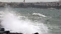 SARAYBURNU - İstanbul'da Şiddetli Lodos Etkili Oluyor