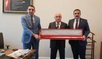 Kaymakam Karakaş Ve Belediye Başkanı Hakanoğlu, CB Yüksek İstişare Kurulu Üyesi Cemil Çiçek'i Ziyaret Etti