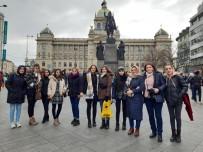 GÜZELLİK SALONU - Oltulu Öğrenciler Viyana'da Staj Gördü