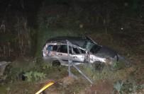 GÜLÜÇ - Refüjü Aşan Otomobil Köprüden Uçtu Açıklaması 3 Yaralı