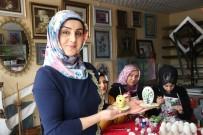 SANAT ESERİ - Bitlis'te Büyüleyen Yumurta İşleme Sanatı
