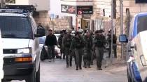 SES BOMBASI - İsrail Güçleri Doğu Kudüs'te Filistinli Aileye Ait İnşat Halindeki Evi Yıktı