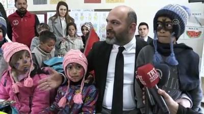 Muş'ta Köy Çocuklarının Yüzü Hediyelerle Güldü