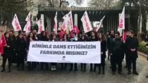 FEMINIST - TGB Üyeleri, 'Las Tesis'i Protesto Etti