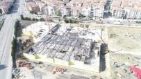 KONGRE SALONU - Ankara'nın En Büyük Kültür Ve Kongre Merkezi'nin Yüzde 20'Si Tamamlandı