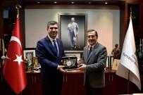 ALİ ORKUN ERCENGİZ - Başkan Ataç, Burdur Belediye Başkanı Ercengiz'i Ağırladı