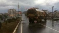 ASKERİ ARAÇ - Hatay'da Askeri Araç Kaza Yaptı Açıklaması 1 Yaralı