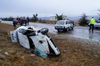Kastamonu'da İki Otomobil Çarpıştı Açıklaması 1 Ölü, 2 Yaralı