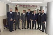 MUSTAFA AVCı - Rektör Çomaklı'dan Eskişehir Baro Başkanı Av. Mustafa Elagöz'e Ziyaret