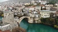 BALKAN SAVAŞLARI - Tarihi Mostar Mostar'dan Kartpostallık Görüntüler