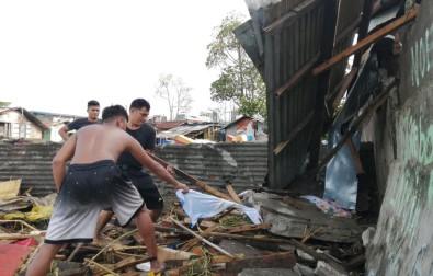 Filipinler'de Phanfone Tayfunu Bilançosu Açıklaması 13 Ölü