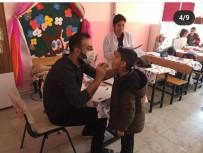 DİŞ FIRÇALAMA - Gercüş'te Öğrenciler Ağız Ve Diş Sağlığı Eğitimi