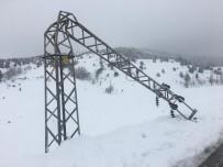 TRAFO MERKEZİ - Göksun İlçesine 2 Gündür Enerji Verilemiyor