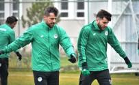 KAYACıK - Konyaspor, A.Alanyaspor Maçı Hazırlıklarını Sürdürdü