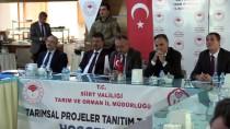 ALİ FUAT ATİK - Siirt'te Tarımsal Yatırım Ve Değerlendirme Toplantısı