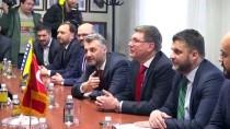 BOŞNAK - İBB Başkanı İmamoğlu, Saraybosna'da Temaslarda Bulundu