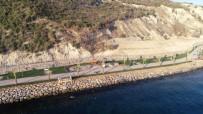 FUTBOL SAHASI - İki Sahili Birleştiren Parkta Sona Yaklaşılıyor