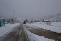 Konya'nın İlçelerinde Kar Yağışı