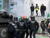 DAĞITIM ŞİRKETİ - Fransa'da Macron karşıtları yeniden sokaklarda