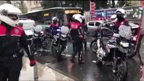 POLİS HELİKOPTERİ - İstanbul'da Yılbaşı Öncesi Asayiş Uygulaması Yapılıyor