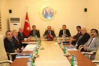 ERZURUM VALISI - KUDAKA Yönetim Kurulu Toplantısı Erzincan'da Yapıldı