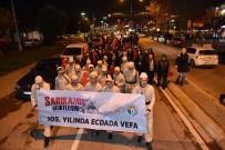 SES SANATÇISI - Sarıkamış Şehitleri Meşaleli Yürüyüş İle Anıldı