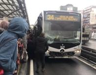 ŞIRINEVLER - Şirinevler'de metrobüs yolcuya çarptı