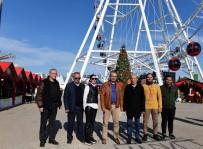 TATLARıN - Uysal, Yeni Yıl Market'i Ziyaret Etti