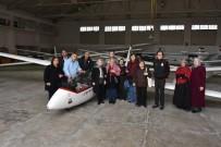 TÜRK HAVA KURUMU - İstanbul Tüm Engelliler Derneği Üyeleri İnönü'yü Gezdi