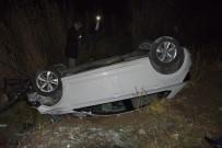 Elazığ'da  Trafik Kazası, Eski Başkan Yaralandı