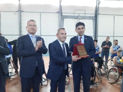 Karabük Tekerlekli Sandalye Basketbol Takımı Gösteri Maçı Yaptı