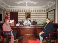 KUBAT - MHP'li Başkan Asiye Bulundu, Kaymakam Köksal'ı Ziyaret Etti