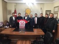 Nevşehir Belediyespor Yöneticilerinden AK Parti İl Başkanı Yanar'a Ziyaret