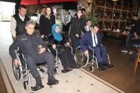 SELAMI ABBAN - Protokol, 3 Aralık Dünya Engelliler Günü'nde Tekerlekli Sandalyeye Bindi