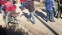 HAVAN MERMİSİ - Tel Rıfat'ta Yuvalanan YPG/PKK'lı Teröristler Azez'deki Sivillere Saldırdı