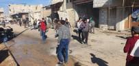 AZEZ - YPG/PKK Azez'deki Sivillere Saldırdı Açıklaması1 Ölü, 9 Yaralı