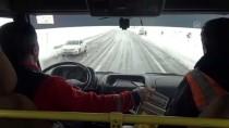 MEHMET CAN - Adıyaman Ve Malatya'da Ulaşıma Kar Engeli